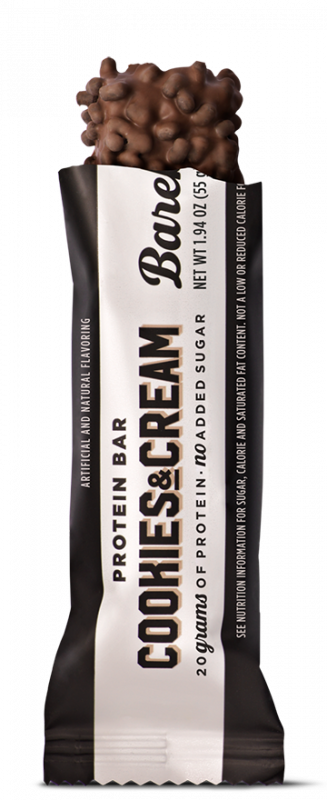 Barebells Cookies and cream protein bar